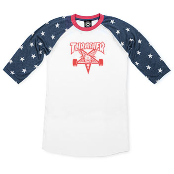 Girls Skategoat Raglan