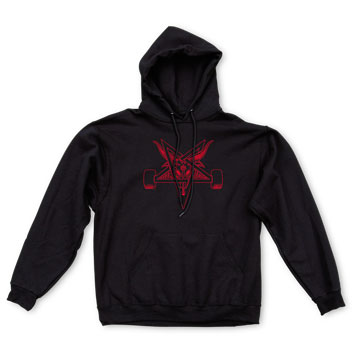 Blackout Hood Black/Red