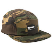 Thrasher 5 Panel Hat (Camo)