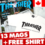 1 Year Canadian Subscription + FREE T-Shirt