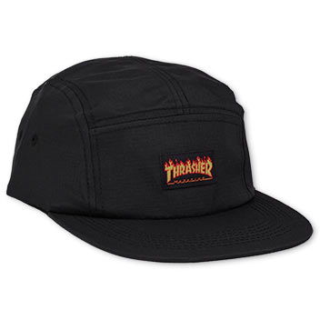 Flame Logo 5-Panel Hat
