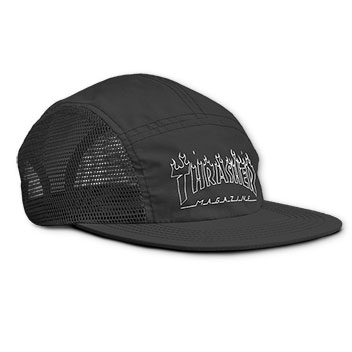 Flame Outline 5 Panel