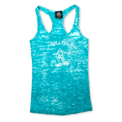 Girls Thrasher Gonz Racerback Tank (Blue)