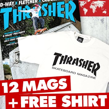 1 Year International Subscription + FREE T-Shirt