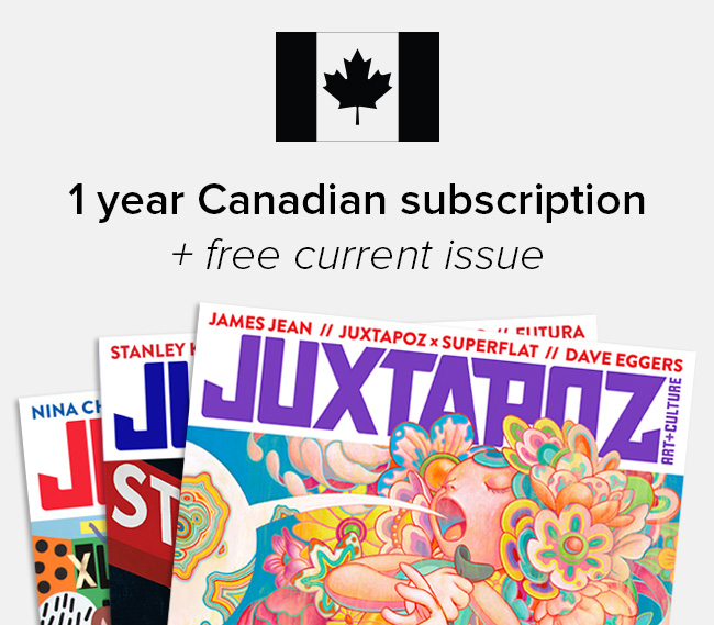 Canadian Subscription + Free Issue