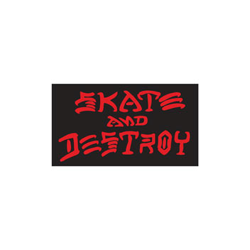 Skate And Destroy Sticker (Med)