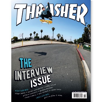 Current Issue: Thrasher Magazine October 2017