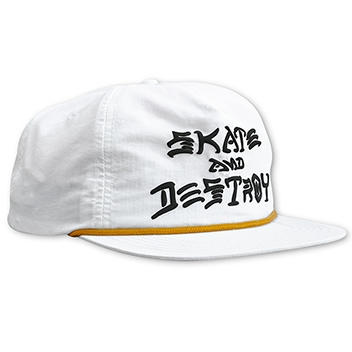 Skate And Destroy Puff Ink Snapback