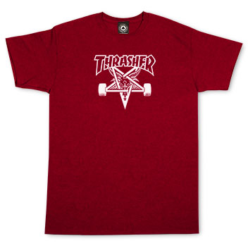 Skategoat T-Shirt- Cherry Red