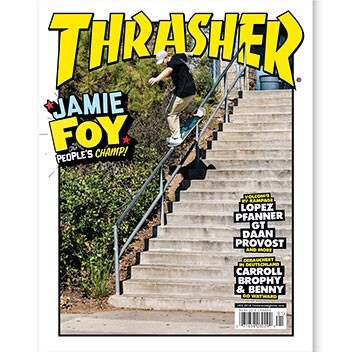 Current Issue: Thrasher Magazine January 2018