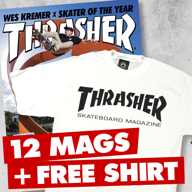 1 Year US Subscription + FREE T-Shirt