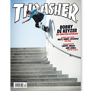 Current Issue: Thrasher Magazine December 2017
