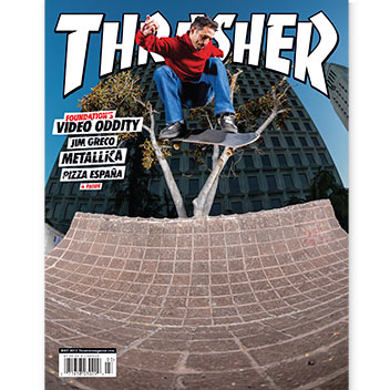 Current Issue: Thrasher Magazine March 2017
