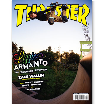 Current Issue: Thrasher Magazine May 2017