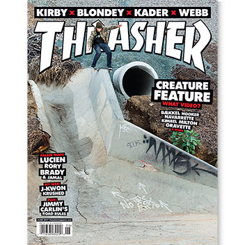 Current Issue: Thrasher Magazine June 2017