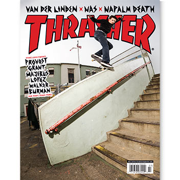 Current Issue: Thrasher Magazine July 2016