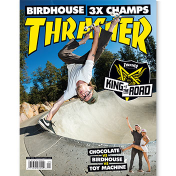 Current Issue: Thrasher Magazine September 2016