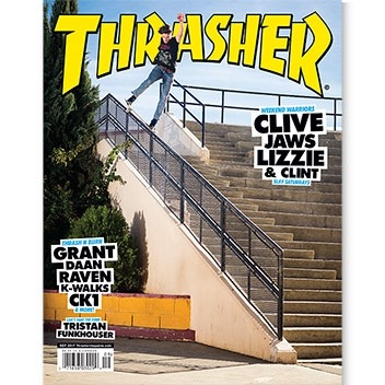 Current Issue: Thrasher Magazine September 2017