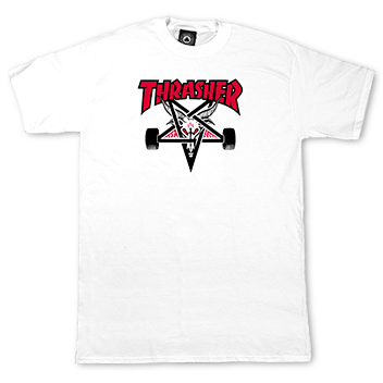 Two-Tone Skategoat T-Shirt White
