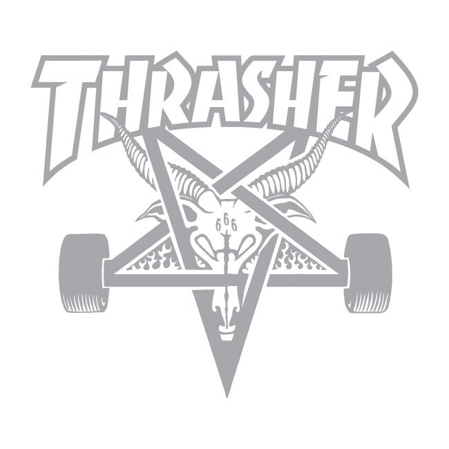 Thrasher Flame Logo Towel