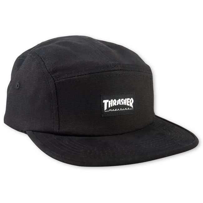 d48d8e23a58 Thrasher Magazine Shop - Thrasher 5 Panel Hat (Black)