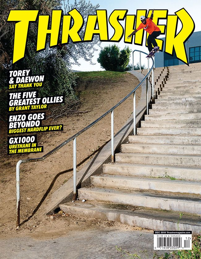 882bd923813 Thrasher Magazine Shop - Current Issue  Thrasher Magazine December 2018