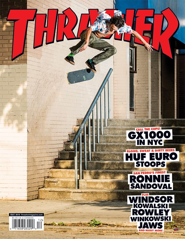 df399259e20 Thrasher Magazine Shop - Thrasher Magazine December 2016