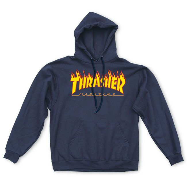Thrasher Magazine Shop - Thrasher Flame Logo Hood cce499575b1