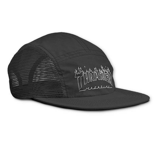 55b053d5df6 Thrasher Magazine Shop - Flame Outline 5 Panel