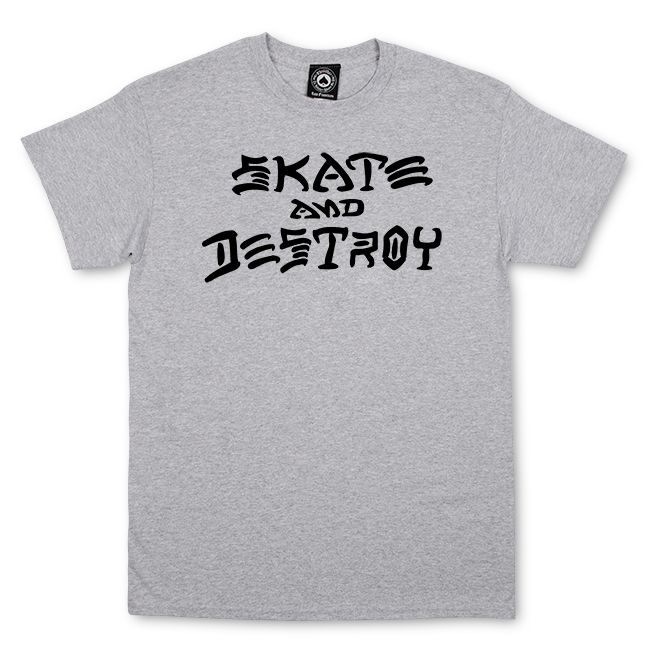 2daf095d62e8 Thrasher Magazine Shop - Thrasher Skate And Destroy T-Shirt
