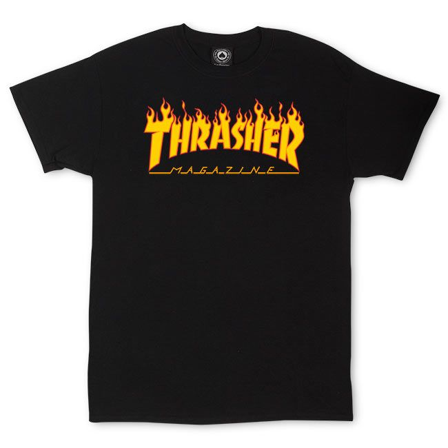 bfef280d0e95 Thrasher Magazine Shop - Thrasher Magazine Flame Logo T-Shirt