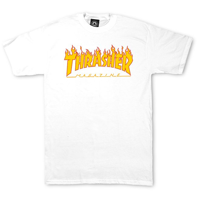 599d96e39011 Thrasher Magazine Shop - Thrasher Magazine Flame Logo T-Shirt