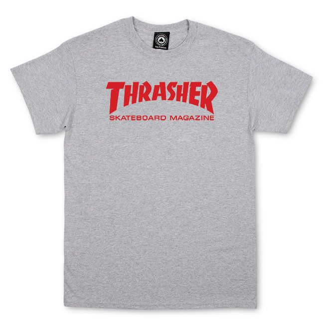 Thrasher Magazine Shop - Thrasher Skate Mag T-Shirt (Gray Red) 1f7681ccbc0d
