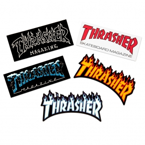 Thrasher Stickers 5 Pack