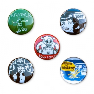 Usual Suspects Buttons (5 Pack)