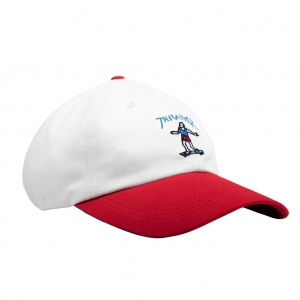 Gonz Old Timer Hat (White/Red)