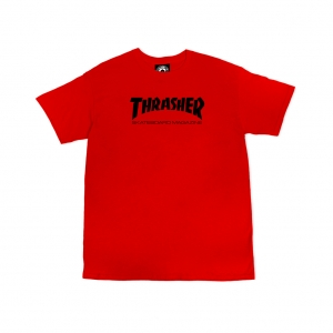 Youth Skate Mag T-Shirt (Red)