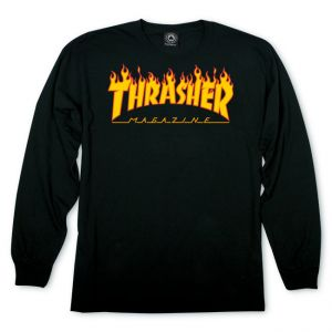 t shirt thrasher noir