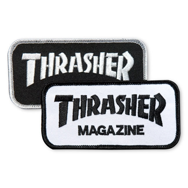 Thrasher embroidery patch