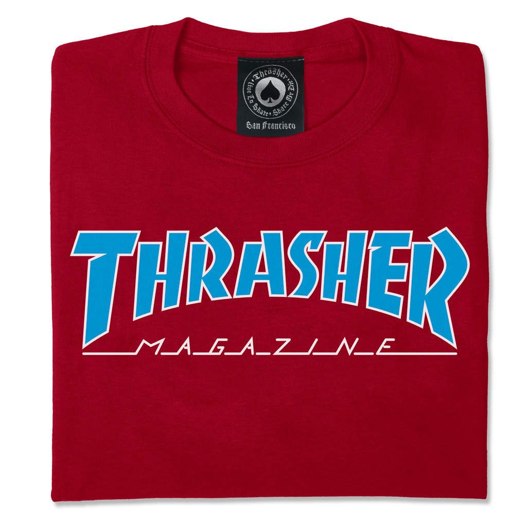 Outlined T-Shirt (Cardinal Red)