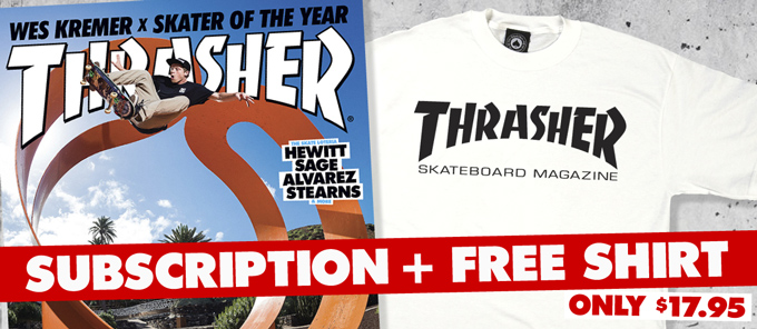 Free Shirt With Subscription Offer Image